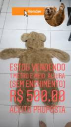 Título do anúncio: Urso pelúcia sem enchimento