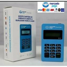 Máquina de cartão mercado pago a pronta entrega Point mini Bluetooth