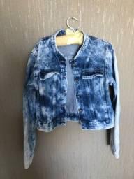 Casaco/jaqueta jeans infantil
