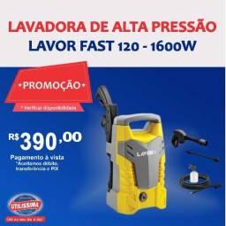 Promoção Lavadora de Alta Pressão Lavor Fast 120