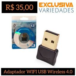 Adaptador Wi-Fi USB Wireless 4.0