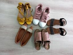 Título do anúncio: Lote de sandálias tamanho  36