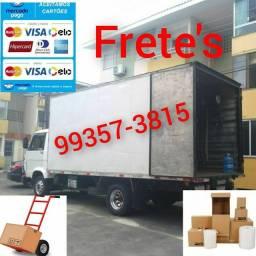 Título do anúncio: Frete baú caminhão grande e confortável