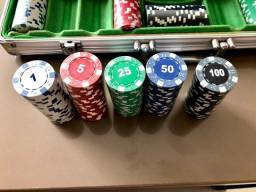 Maleta fichas de poker
