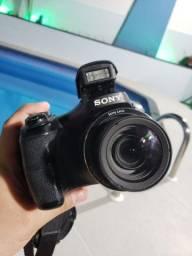 Câmera semi profissional Cyber Shot 16.1mp