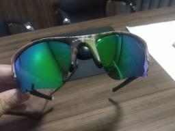 Lente Saphire Mirror polarizada para óculos Flak Jacket XLJ