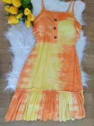 Vestido verão vestidinho feminino curto