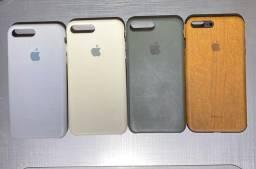 Capinhas para iPhone 7 Plus R$80 as 4
