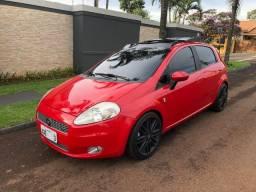 Fiat Punto HLX 1.8 8v flex completo + teto solar Skydome