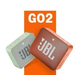 Caixa de som JBL Go 2 portátil com bluetooth