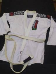 Kimono Jiu Jitsu Pouco Usado