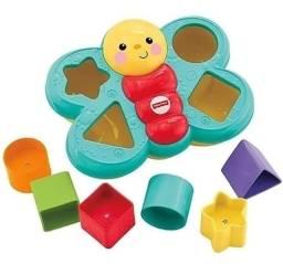 Brinquedo Encaixa Borboleta Com 6 Peças - Fisher Price