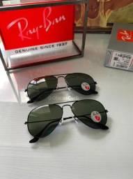 Óculos de sol RayBan Aviator Rb3025 e Rb3026 Lentes polarizado Original