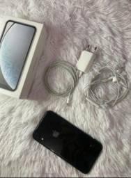 iPhone XR preto, novo na caixa e com os acessórios  !!