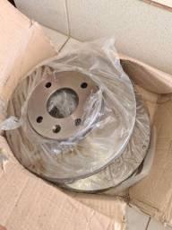 Disco de freio dianteiro ventilado varga