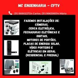 Título do anúncio: MC  CFTV  ENGENHARIA