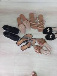 Título do anúncio: Lote de sandália  rasterinha  número  35