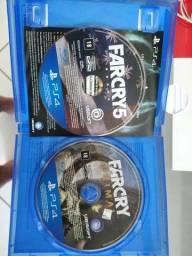 Fracry5 rpimal e FarCry 5, cada 65, os dois 100