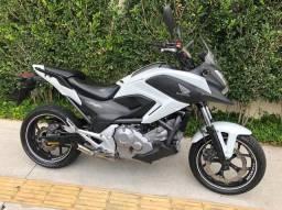 Honda nc 700 2013 aceito cartão 24 x 1.5% Am aceito moto Fin 48 x