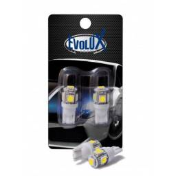 EVL001 Lâmpada LED T10 pingo (par)