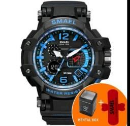 0699bd01681 Relógio Masculino Smael Original Militar estilo G Shock Prova Dágua com  Garantia