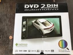 Dvd 2 Din E-tech Espelhamento da tela do celular