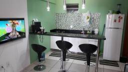 Apartamento temporada Luis Correia, mobiliado, quarto e sala, cozinha americana