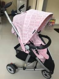 Carrinho de bebe Três rodas