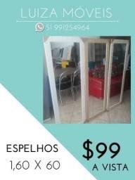 Espelhos 1,60 x 60