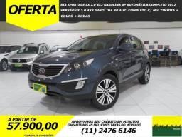Kia Sportage LX 2.0 4x2 Gasolina 4p Automática Completo C/ Multimídia + Couro - 2012