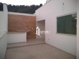 Cobertura dúplex com 3 quartos( 1 suíte), terraço c varanda gourmet, garagem à venda, 117