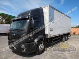 Ford Cargo 2422 Truck Completo Ar condicionado Baú Linshalm comprar usado  Blumenau
