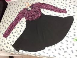 Vestido infantil tamanho 12