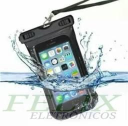 Capa prova d'água para celular