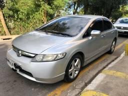 Civic LXS Automatico c/ GNV Injetado! Barato!!! Pra Vender Rapido! - 2008