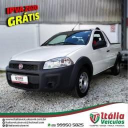Fiat Strada 1.4 Hard Working CS 2018/19. IPVA 2020 Pago - 2018
