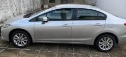 Apenas VENDA(Parnaíba) Honda Civic LXS 1.8 aut banco couro câmera ré - 2013