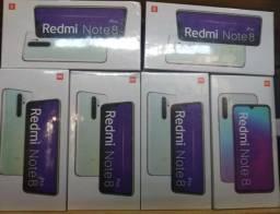 Note 8 PRO 6 RAM 128GB originais global novos lacrados com garantia de 6 meses