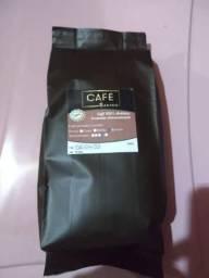 Café torrado e moído artesanal