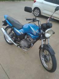 YBR 125cc atrasada
