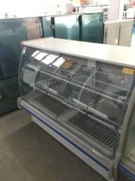 Balcão expositor estufa 2m novo da gelopar pronta entrega - douglas