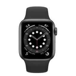Apple watch séries 6 44 space gray - lacrado - pronta entrega
