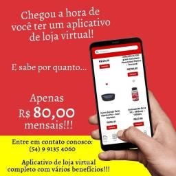 Aplicativo de loja virtual