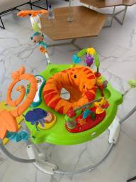 Jumperoo fisher price floresta tropical