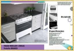 Terça Chove Ofertas - Fogão Fratello - 5 Bocas
