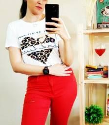 T-Shirt Feminina Animal Print!