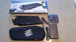 Mini Teclado Mad Catz Strike M Wireless Preto