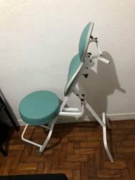 Cadeira para maquiagem e sobrancelha