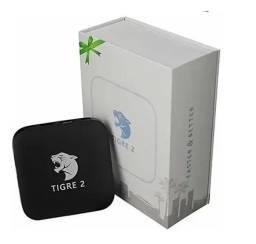 Receptor FTA Tigre 2 4K com IPTV / Wi-Fi / HDMI / USB Bivolt - Preto