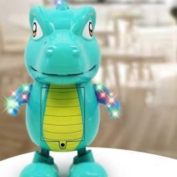 Robô dinossauro elétrico